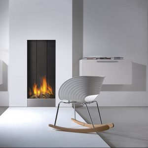 CHIMENEA A GAS FABER STRAIGHT FRAMELESS